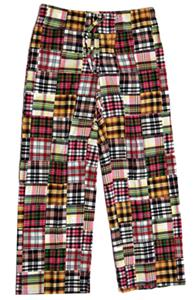 "Fit2Win Jenny Madras Lounge Pants 32"" Inseam - ML"