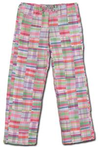 "Fit2Win Jenny Madras Lounge Pants 32"" Inseam - MQ"