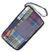 Fit 2 Win Madras Loop Wristlet Bag - MN