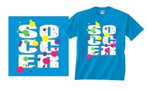 Imagesport Soccer Paint Splatter T-shirts