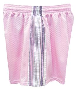 Fit 2 Win Savannah Tricot Mesh 5&quot; Pink Shorts