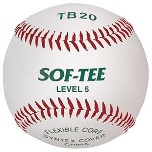 Martin Sports Level 5 Official League Tee Balls