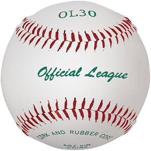 Martin Sports Official League Raised Seam Baseball