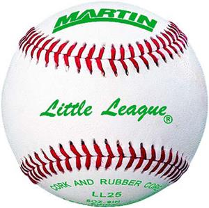 Martin Sports Little League Approved Baseballs