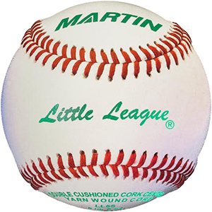 Martin Tournament Approved Little League Baseballs