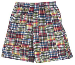 "Fit2Win 10"" Weekender Mens Madras Bermuda Shorts"