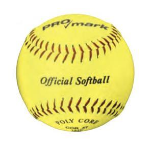 "Martin Sports Official 11""/12"" Yellow Softballs"