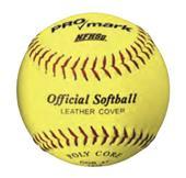 "Martin SPC11-YL Official 11"" Yellow NFHS Softballs"