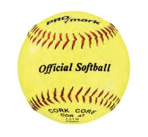 "Martin SY11 Official 11"" Yellow Softballs"