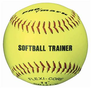 "Martin Sports Official 11"" or 12"" Yellow Softballs"