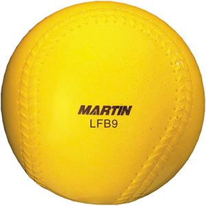 Martin LFB9 Pitching Machine Sponge Baseballs