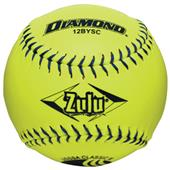 Diamond Zulu Blue Stitch USSSA Softballs