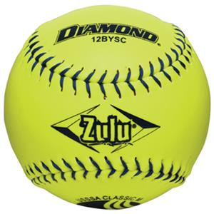 Diamond Zulu Blue Stitch USSSA Softballs