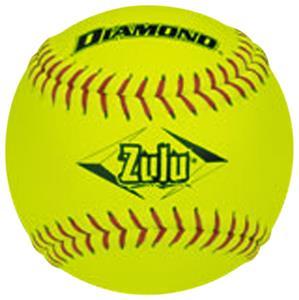 Diamond Zulu Red Stitch ASA Slowpitch Softballs CO