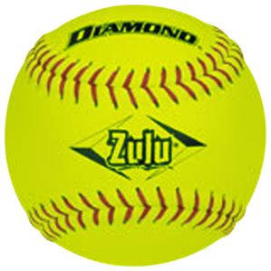 Diamond Zulu Red Stitch ASA Slowpitch Softballs