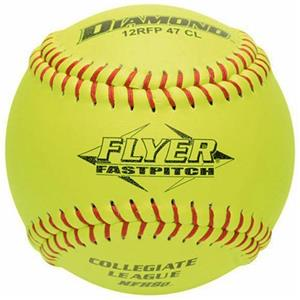 Diamond Flyer Red Stitch ASA Fastpitch Softballs