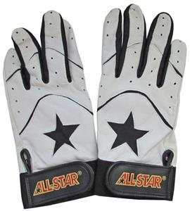 All-Star Protective Baseball Batting Gloves -close