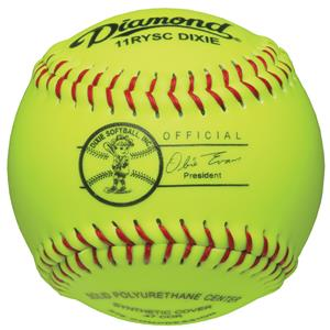 "Diamond 11RYSC DIXIE Youth 11"" Softballs"