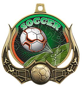 Hasty Awards Soccer Ultimate 3-D Medals M-727S