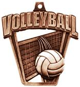 Volleyball 3-D Pro Sport Medal M-712V
