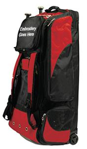 Martin Sports Baseball Deluxe Rolling Bags