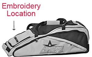 ALL-STAR BBRB09 Baseball/Softball Equipment Bags