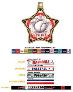 Hasty Awards All-Star Insert Baseball Medals