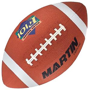 Martin Official Size Rubber Football
