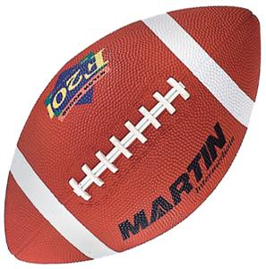 Martin Intermediate Size Rubber Football