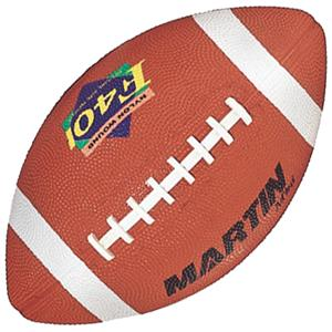 Martin Sports Pee-Wee Size Rubber Football