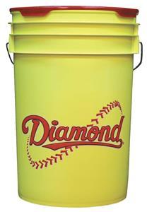 Diamond Yellow 6 Gallon Baseball/Softball Buckets