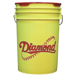 Diamond Yellow 6 Gallon Baseball/Softball Buckets