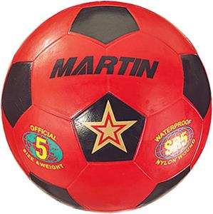 Martin Rubber Nylon Wound Soccer Balls
