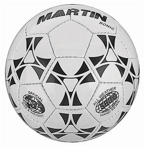 Martin Sports Sonic PVC Leather Soccer Balls