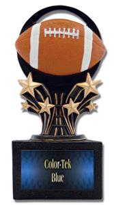 "Hasty Award Shooting Star 6"" Football Resin Trophy"