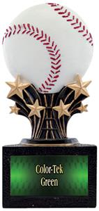 "Hasty Award Shooting Star 6"" Baseball Resin Trophy"