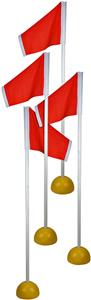 Martin Sports Universal Corner Flags (Set of 4)
