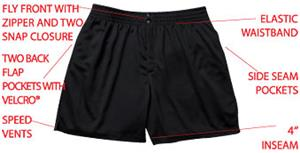 H5 Women's Supreme Soccer Ref Shorts Closeout