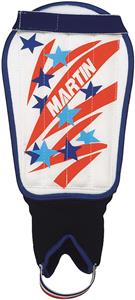 Martin Sports Rigid PE Insert Soccer Shin Guards