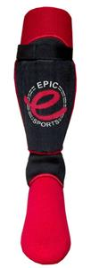 Epic BLACK Soccer Shinguards-Closeout
