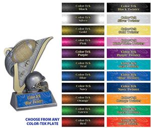 "Hasty Awards 4.5"" Football Victory Resin Trophies"