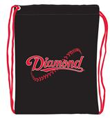 "Diamond 13""x17"" Drawstring Cinch Pack"