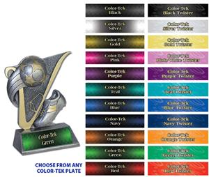 Hasty Awards 4.5&quot; Soccerball Victory Resin Trophy