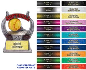 "Hasty Awards 6"" Softball Ultimate Resin Trophies"