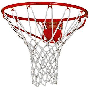 Martin Sports White Nylon Basketball Nets