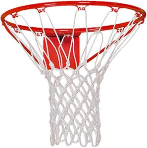 Martin  Heavy White Nylon Basketball Nets