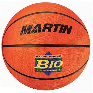 Martin Sports Official Rubber Basketballs