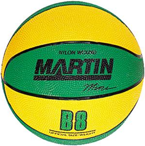 Martin  Rubber Mini-Ball Basketballs