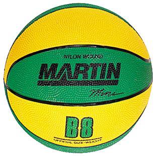 Martin Sports Rubber Mini-Ball Basketballs