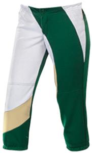Teamwork Womens Cyclone Polyester Softball Pants